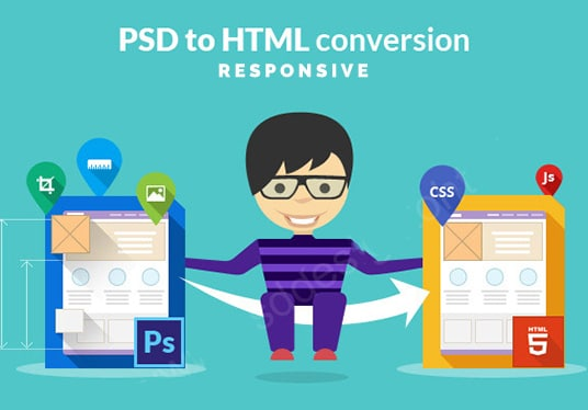 PSD to WordPress Theme Coding | convert PSD to HTML